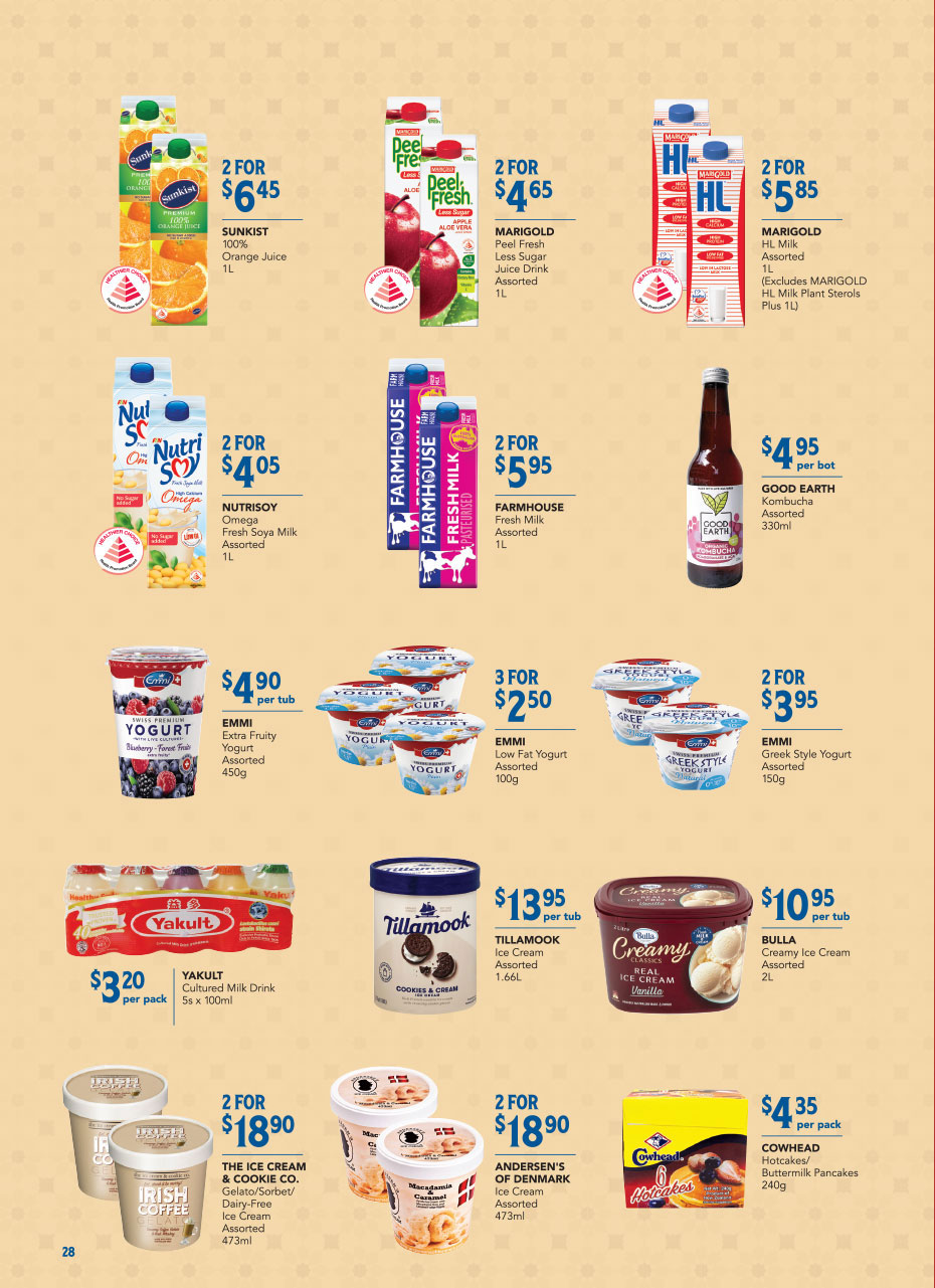 FairPrice Christmas Catalogue 2020 - Frozen & Chilled