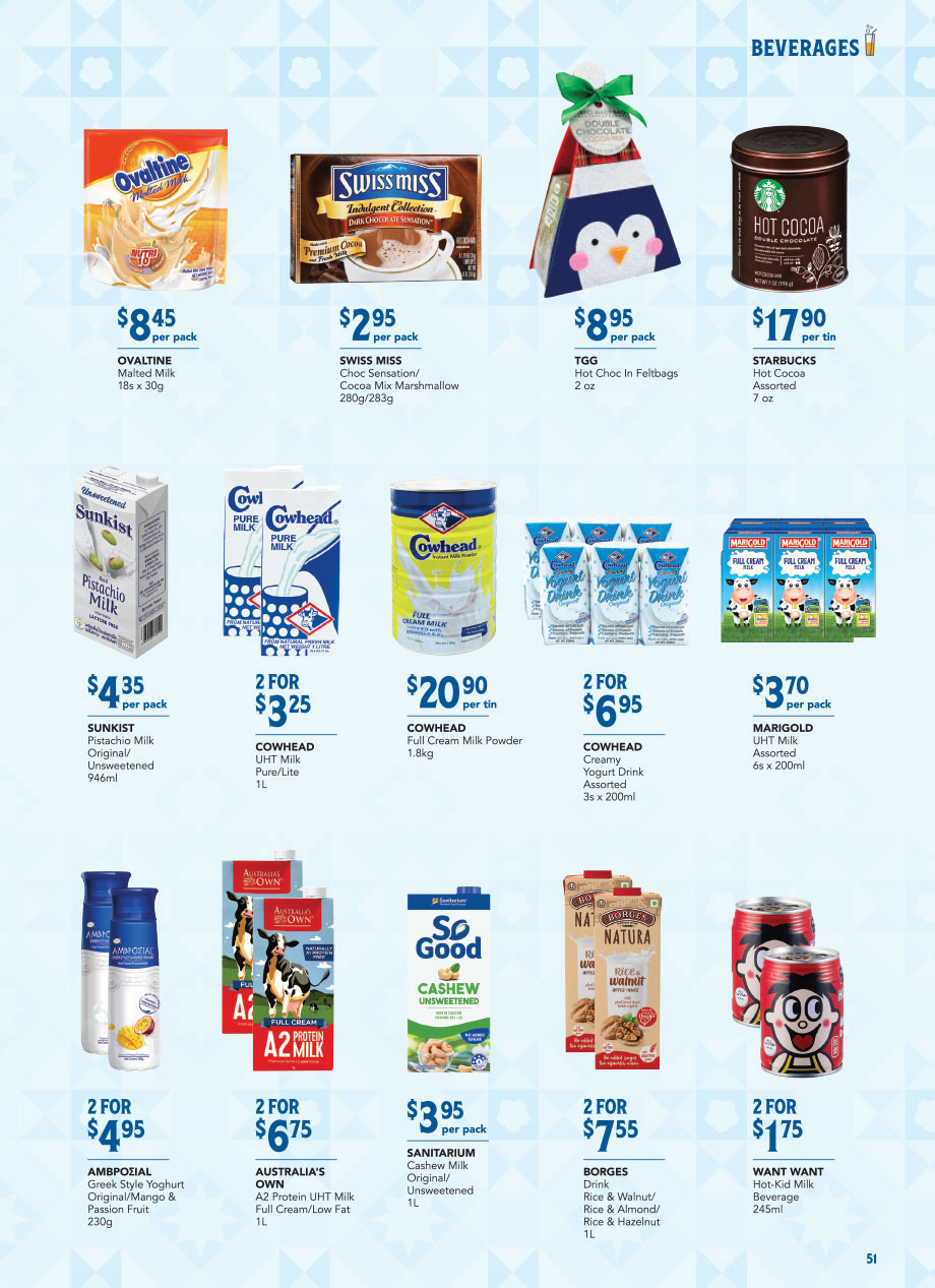 FairPrice Christmas Catalogue 2020 - Beverages