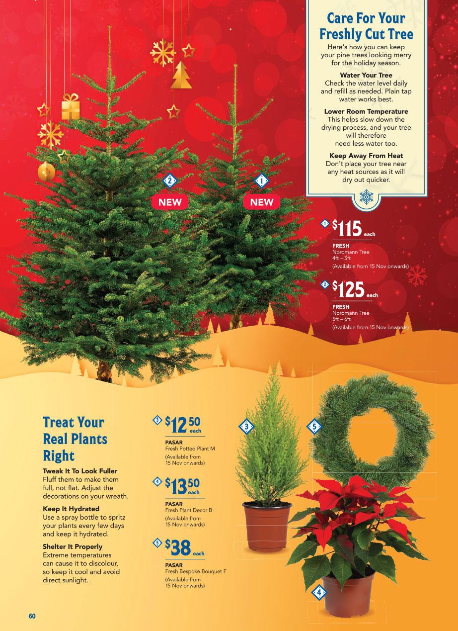 FairPrice Christmas Catalogue 2020 - Christmas Trees & Decor
