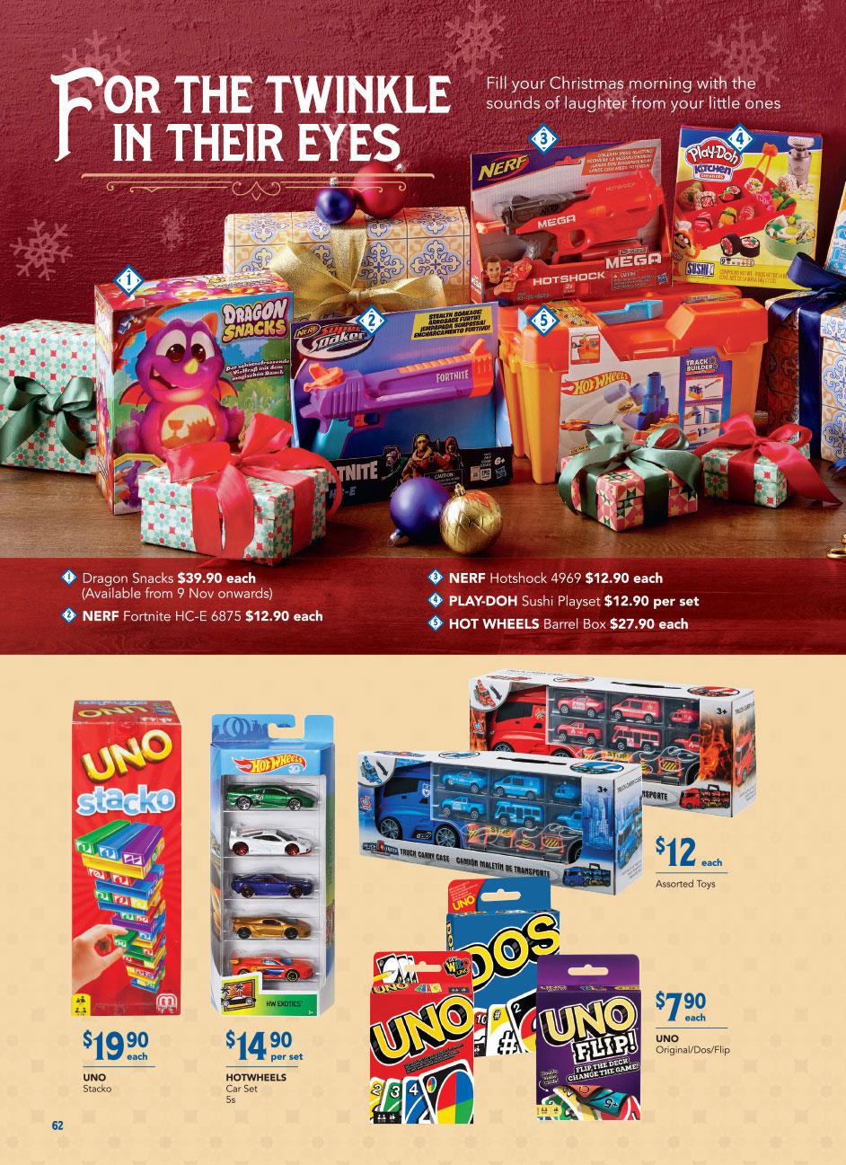 FairPrice Christmas Catalogue 2020 - Toys