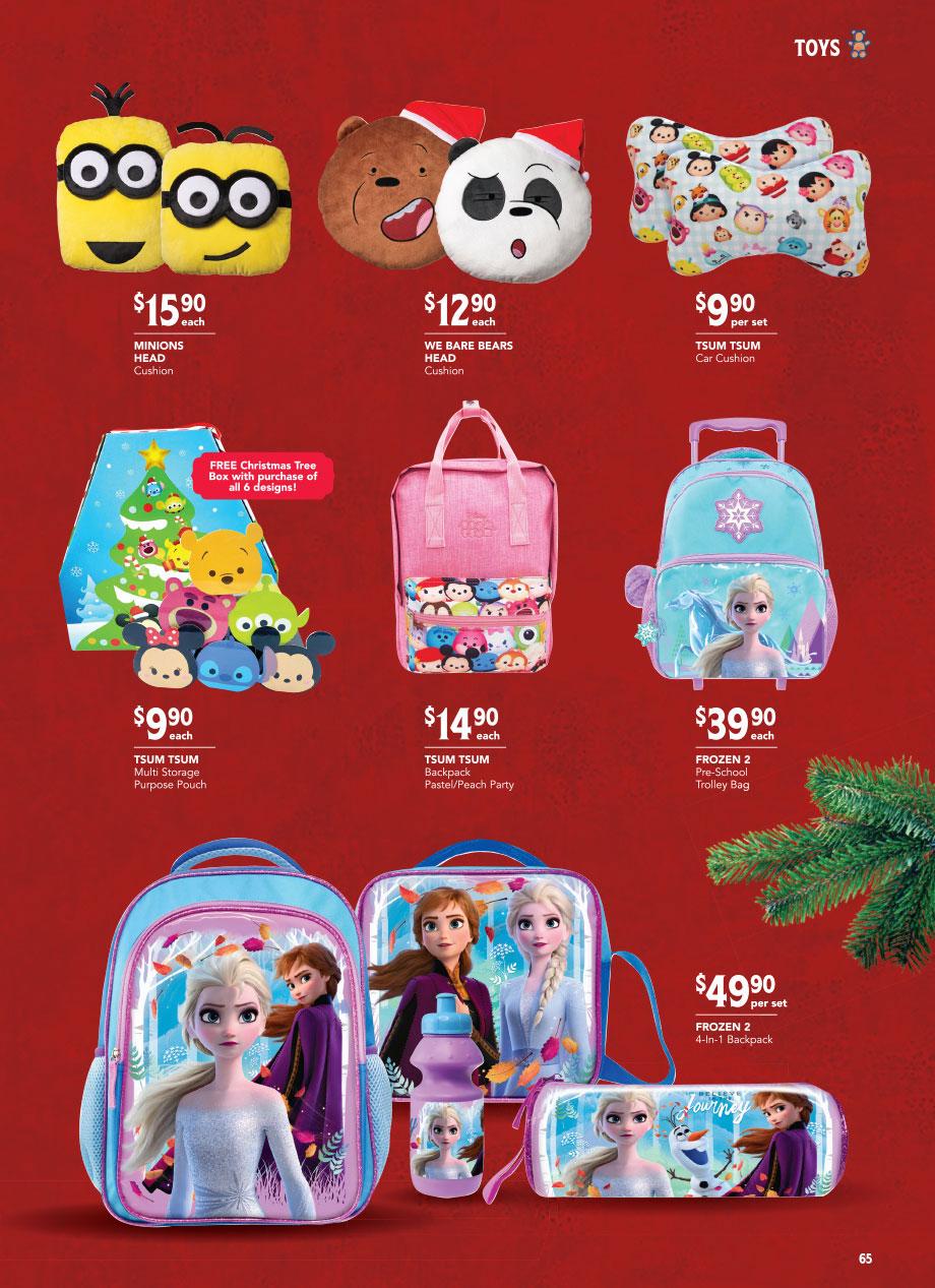 FairPrice Christmas Catalogue 2020 - Bags & Batteries