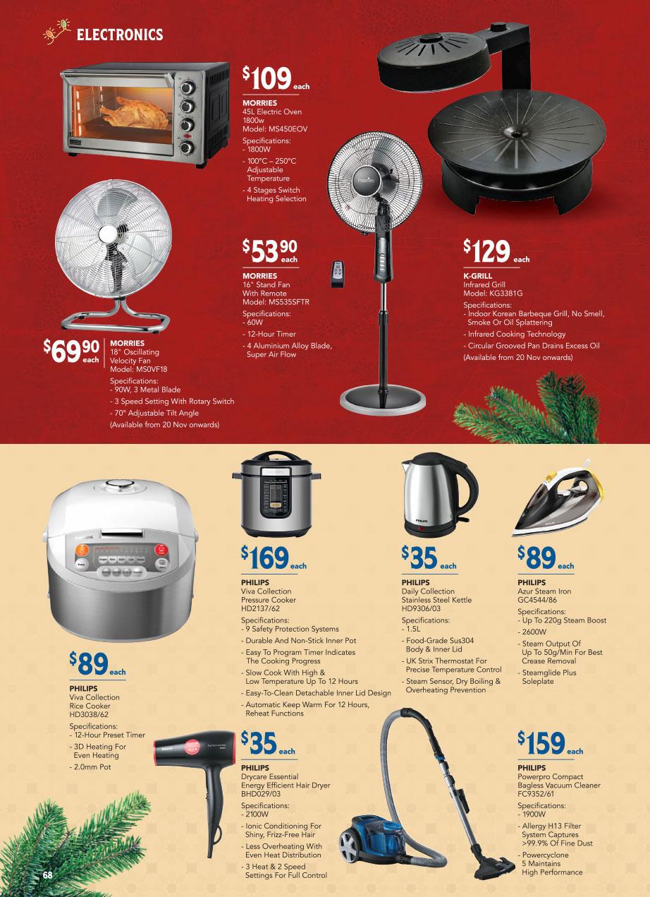 FairPrice Christmas Catalogue 2020 - Electronics