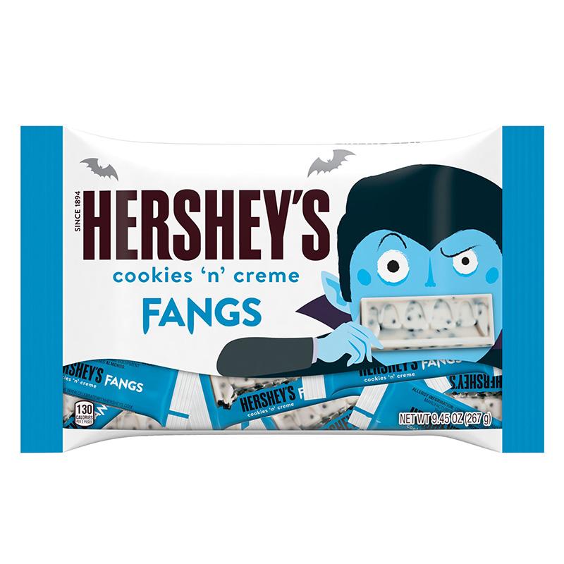 Hershey's Cookies N Creme Fangs 9.45oz