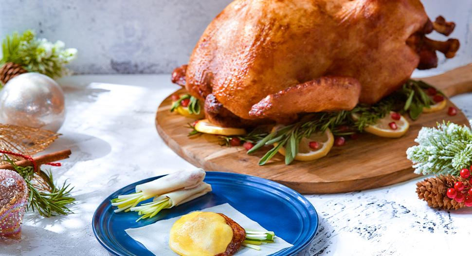 Peking Turkey Roll