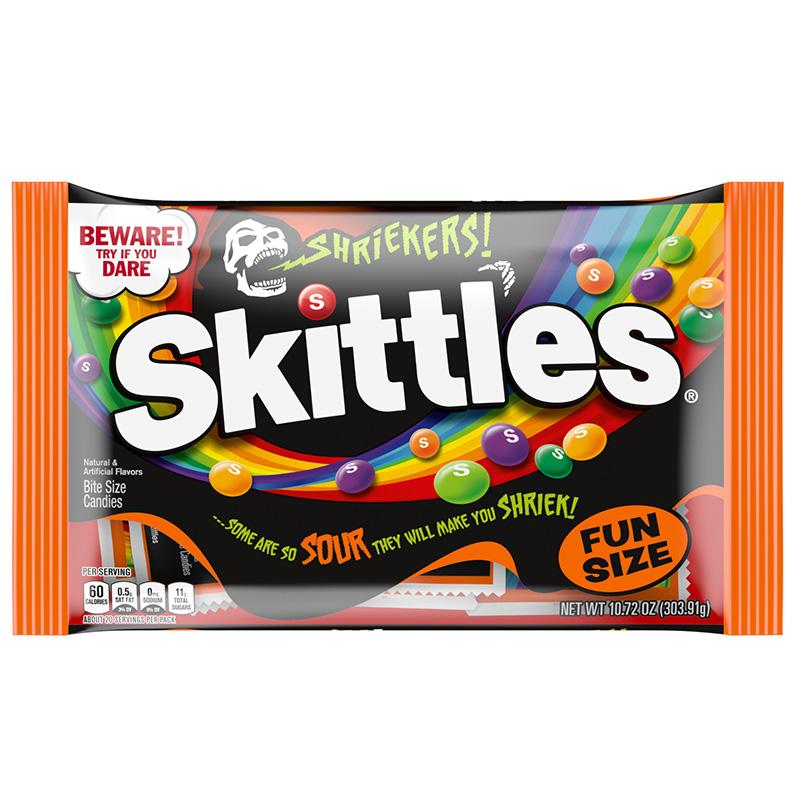 Skittles Shriekers Fun Size Bag