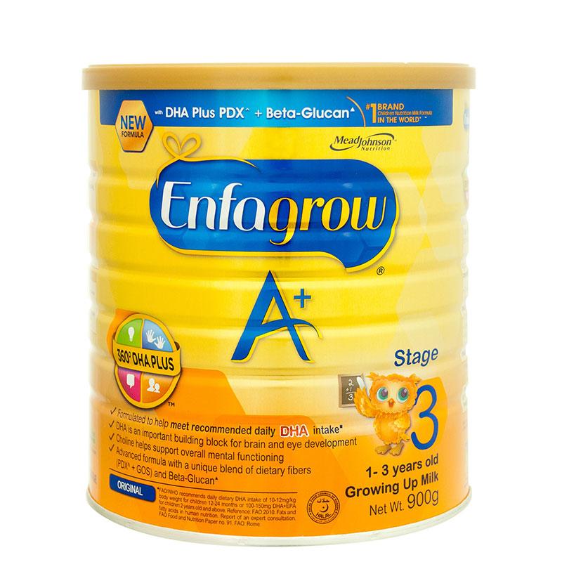 ENFAGROW A+ Stage 3 Growing Up Milk Powder 900g