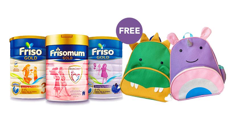 Friso - Free toddler backpack