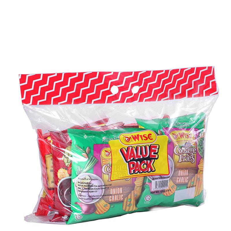 WISE Potato Chip Bundle Pack 6s