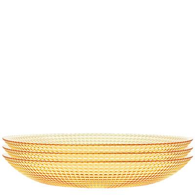 3pc 21.5cm Rings Deep Plate Set