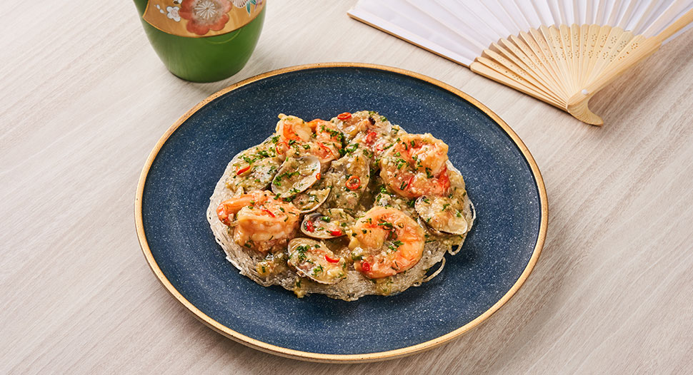 Crispy Noodles with Silky Seafood Sauce