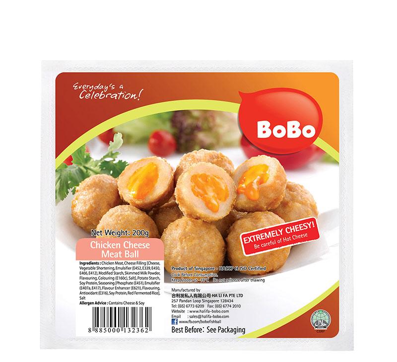 BOBO Chicken Meatball (Salted Egg / Cheese) 150g / 200g