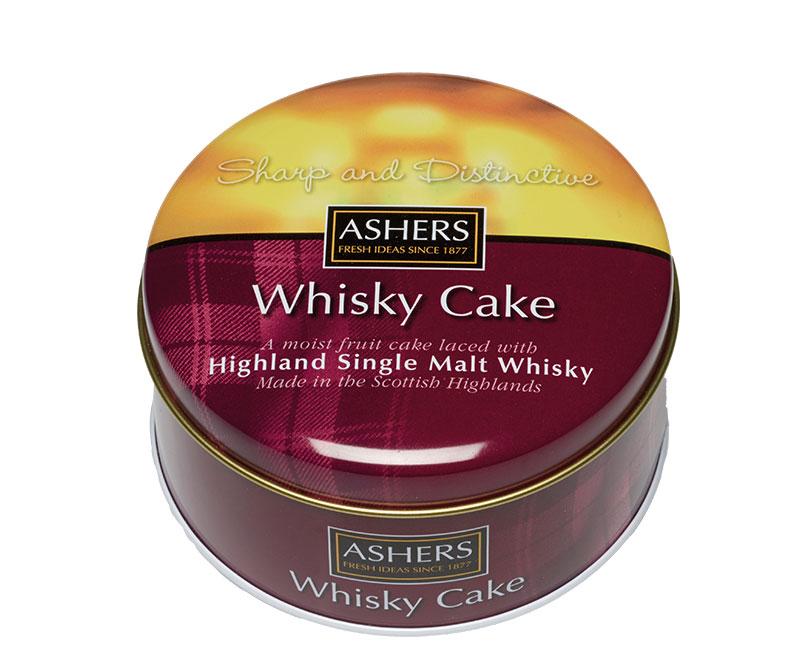 Ashers Single Malt Whiskey Cake Assorted 180g