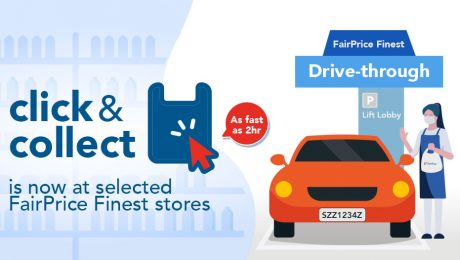 Click & Collect at selected FairPrice Finest stores