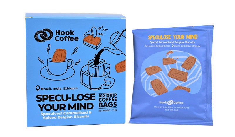 HOOK COFFEE Bags Assorted 110g