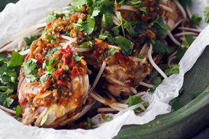 Deep-fried Fish with Chilies