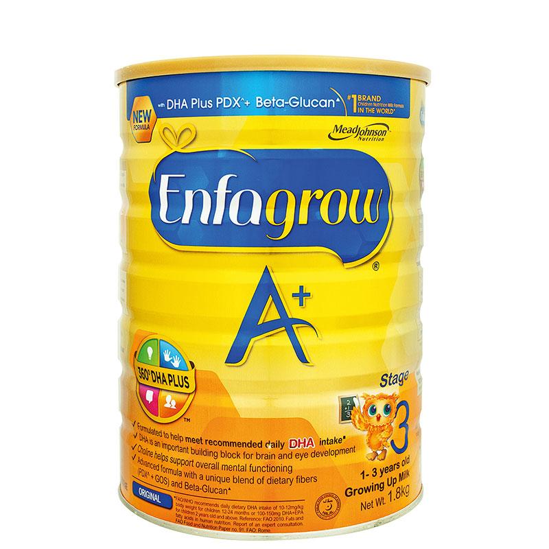 ENFAGROW Stage 3 360 DHA + Beta Glucan Milk Powder 1.8kg