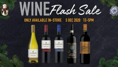FairPrice Finest Wine Flash Sale - 5 Dec 2020