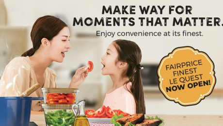 Enjoy convenience at its finest at FairPrice LeQuest