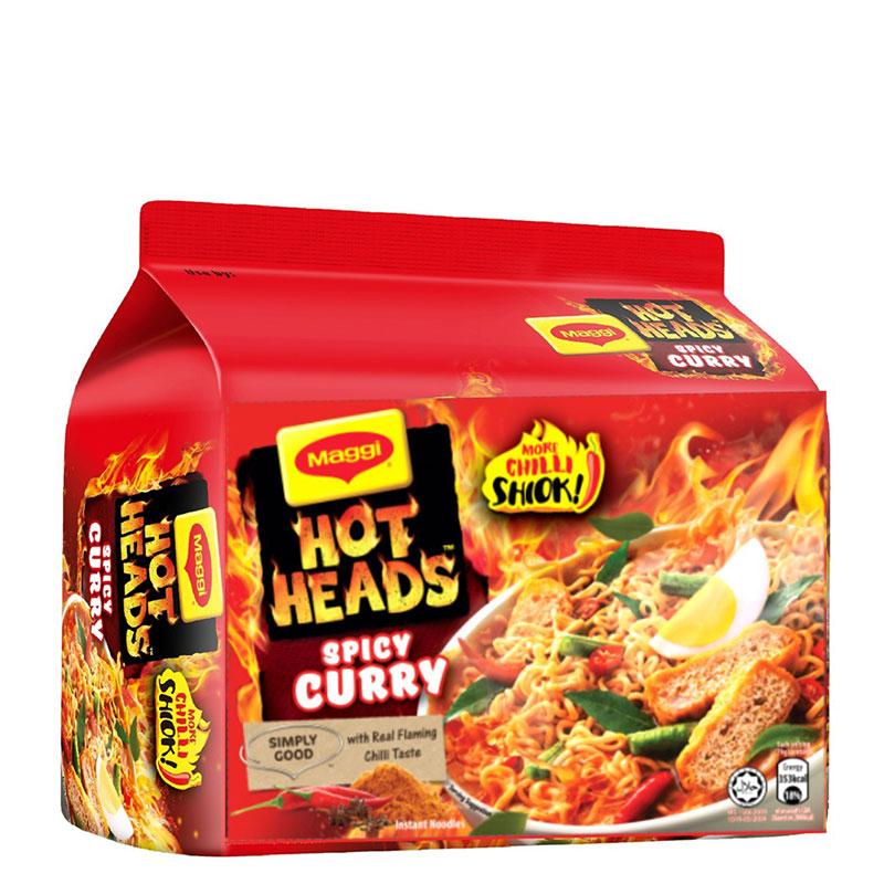 MAGGI Hot Heads (Curry / Roast Chicken / Tom Yum)