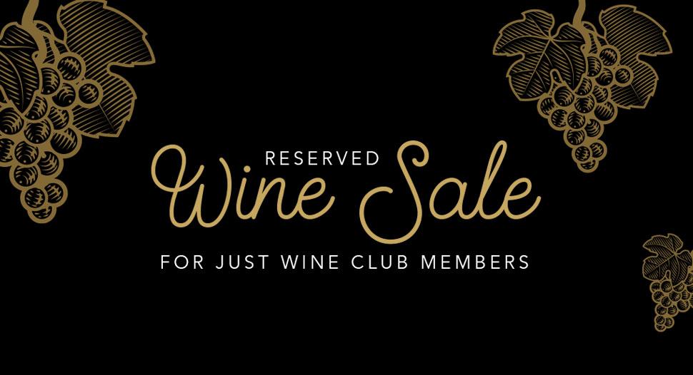 Just Wine Club Members - Wine Sale