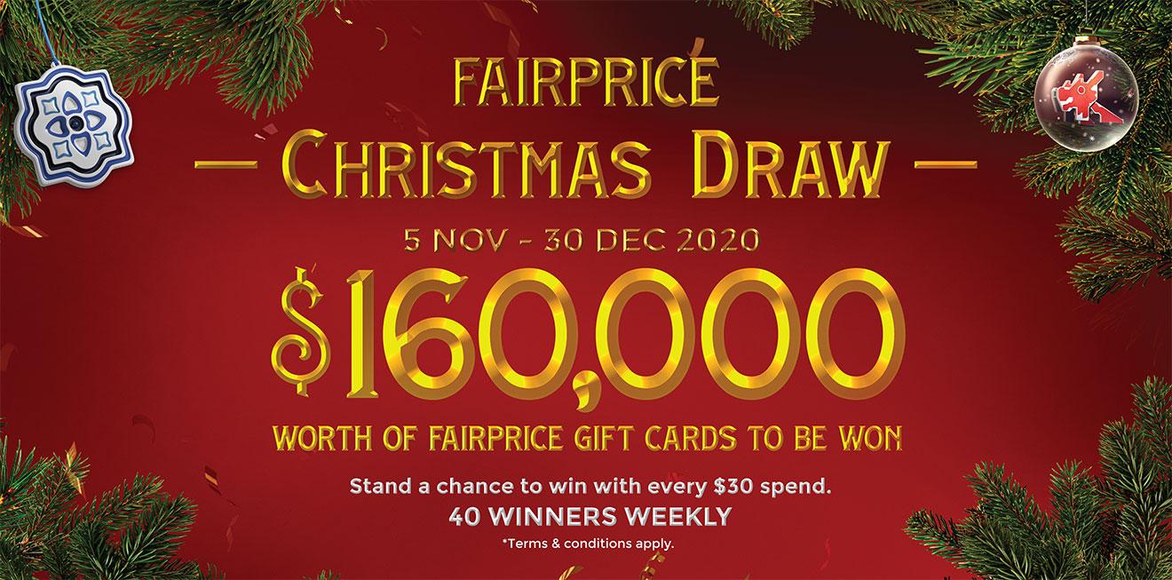 FairPrice Christmas Draw Winners