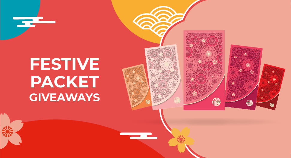 FairPrice Festive Packet Giveaways
