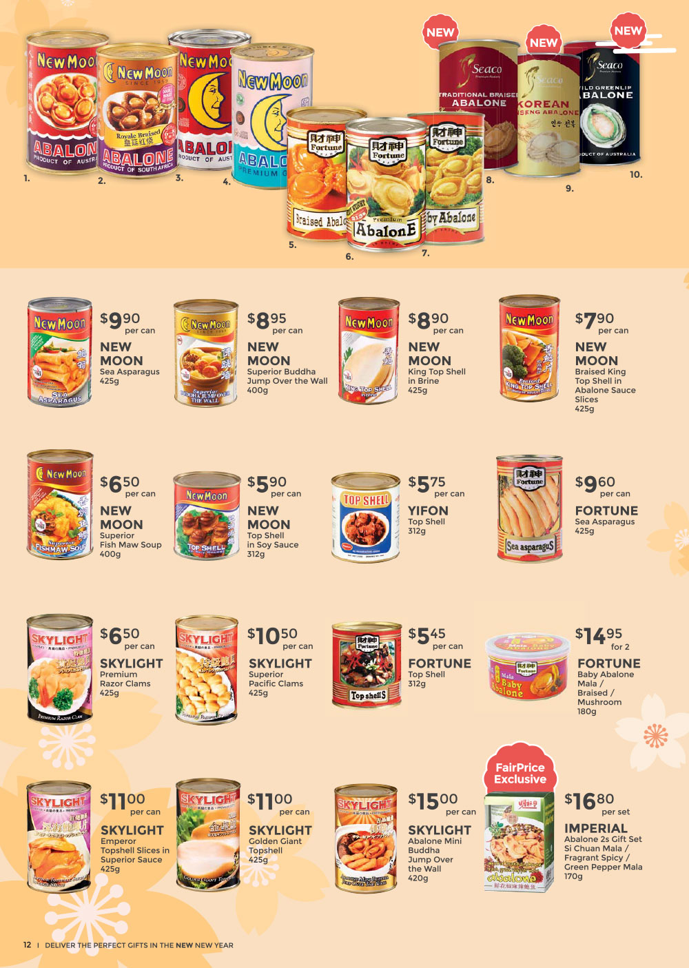 FairPrice Chinese New Year Catalogue 2021 - Celebrate a New New Year - Perfect Gifts