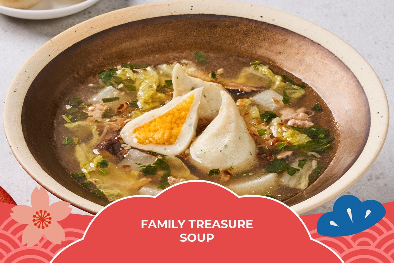 CNY Recipe - Family Treasure Soup