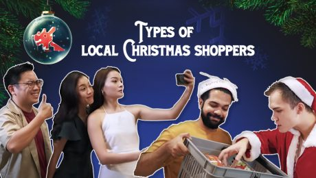 Types of local Christmas shoppers