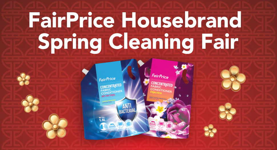 FairPrice Housebrand CNY Spring Cleaning Return e-Voucher