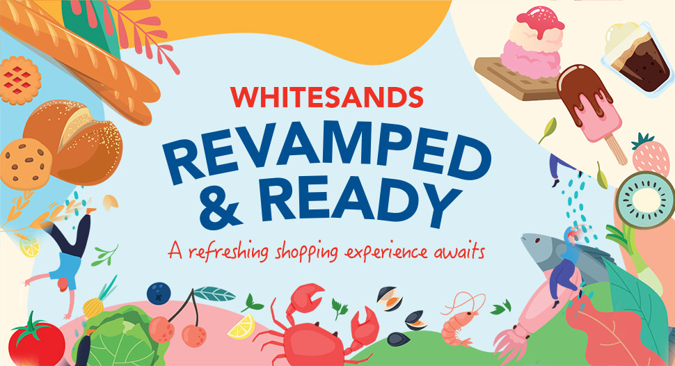 An enhanced shopping experience at FairPrice Whitesands