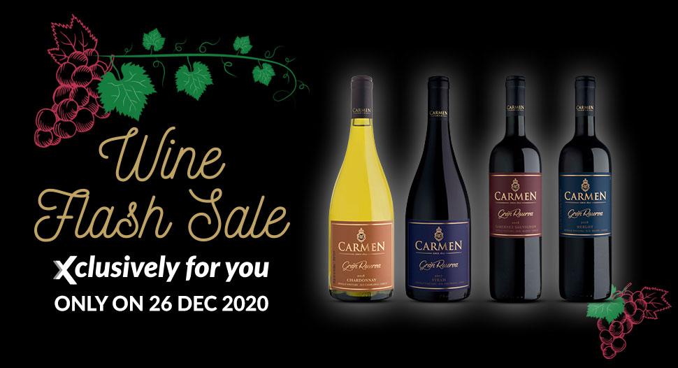 FairPrice Xtra Monthly Wine Flash Sale
