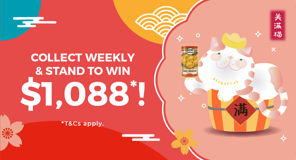 FairPrice - Collect Fortune Cat Figurines and stand to week $1088