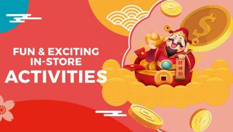 FairPrice Chinese New Year store activities