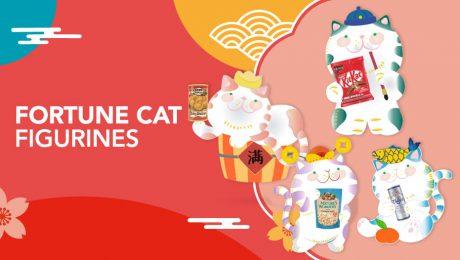Redeem your Fortune Cat Figurines