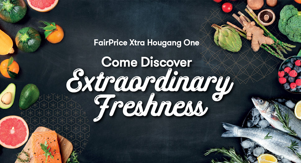 FairPrice Xtra Hougang One has re-opened!