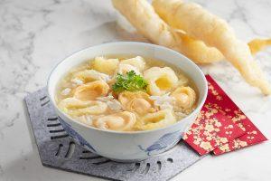 Festive Seafood Abalone & Fish Maw Soup