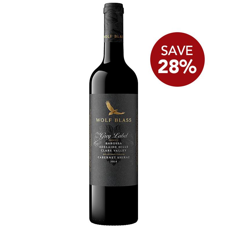 FairPrice Finest Wine Fair - WOLF BLASS Grey Label Cabernet Shiraz