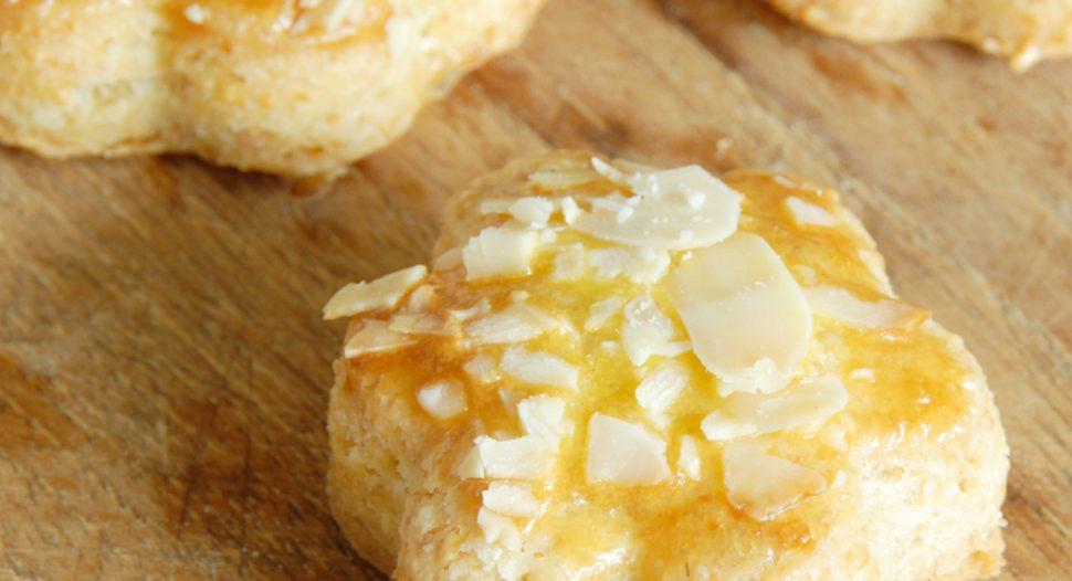 Almond Cookies using Airfryer