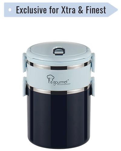 2.5L La Gourmet TIFFIN CARRIER - FairPrice Loyalty Programme - Exclusive for Xtra and Finest