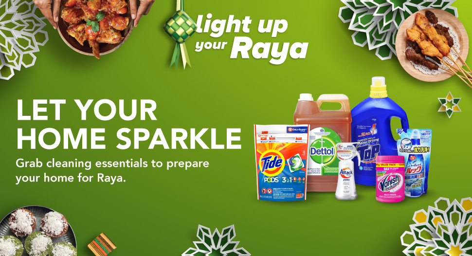 Let Your Home Sparkle with FairPrice