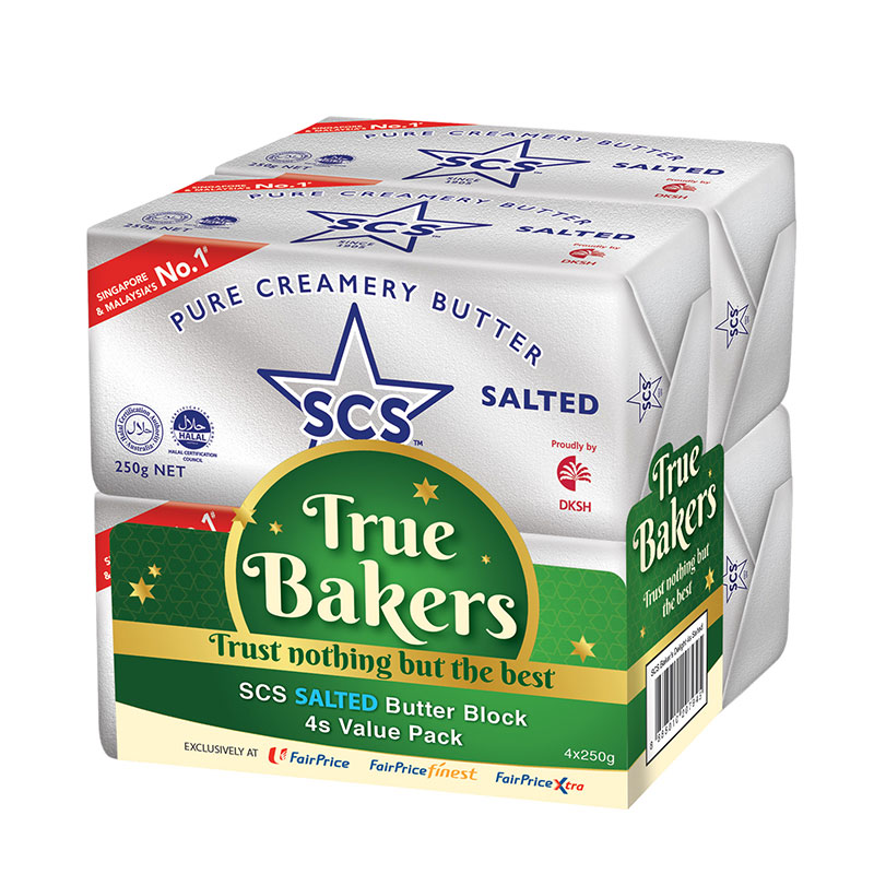 SCS Butter – Salted/Unsalted