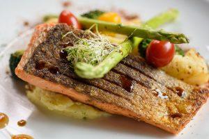 Easy Crispy Skin Pan Seared Salmon recipe