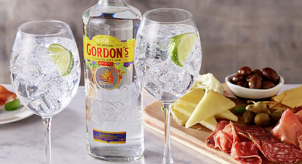 Gordon's Gin & Tonic Cocktail Recipe