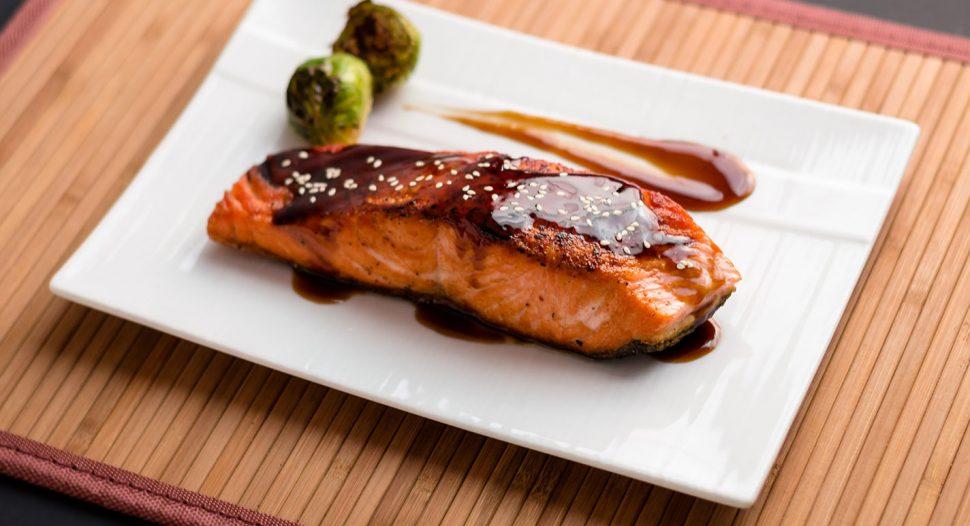 Grilled Teriyaki Salmon Receipe