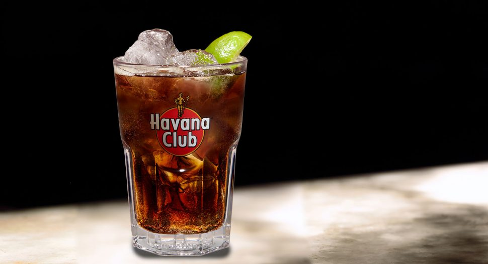 Havana Club 3 Years Rum with Coca-Cola