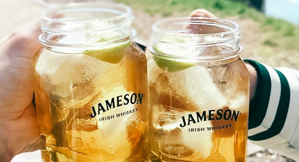 Jameson Irish Whiskey with A&W Sarsaparilla