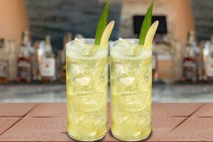Johnnie & Green Tea Cocktail recipe