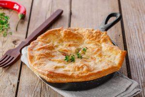 Easy Prata Pot Pie With Boston Clam Chowder Recipe in 30mins