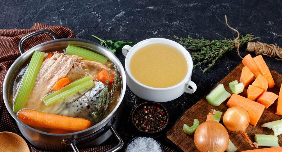 Salmon Bone Stock recipe